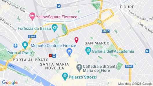 Cellai Boutique Hotel Map