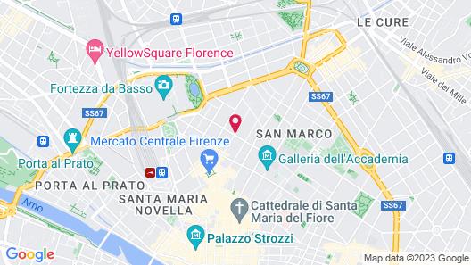 Soggiorno Arcobaleno Map
