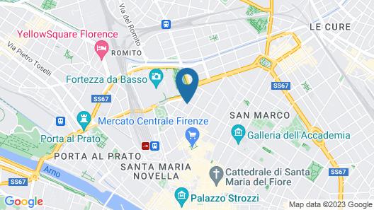 Soggiorno Casa di Barbano Map