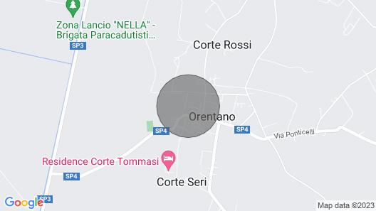 2 bedroom accommodation in Orentano Map