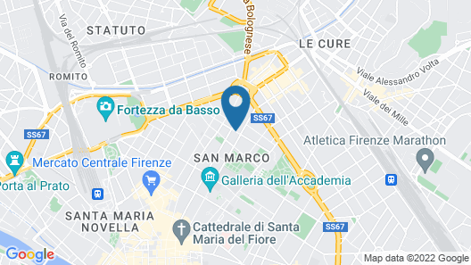 WOW Florence - Hostel Map