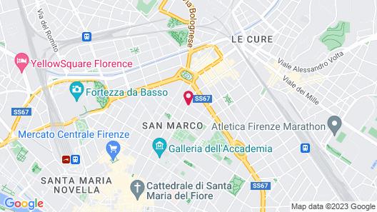 De La Pace, Sure Hotel Collection by Best Western Map