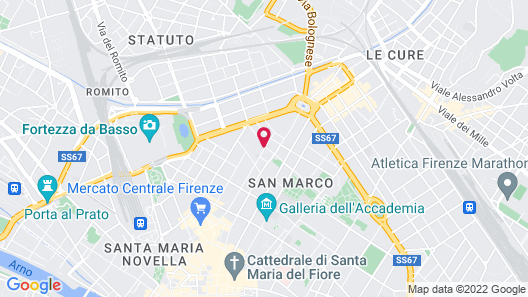 My Guest In Florence Map