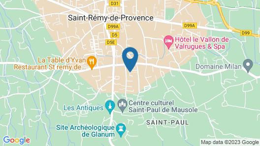 Au Mont Gaussier Map