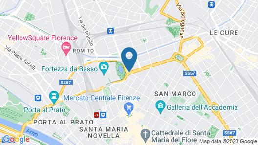 TSH Florence Lavagnini Map