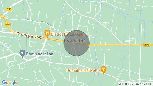 La Cigale Bleue Map