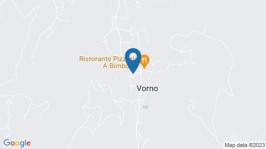 Il Rio di Vorno  Map