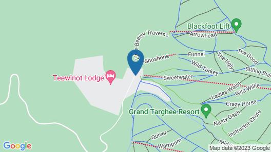 Targhee Lodge By Grand Targhee Resort Map