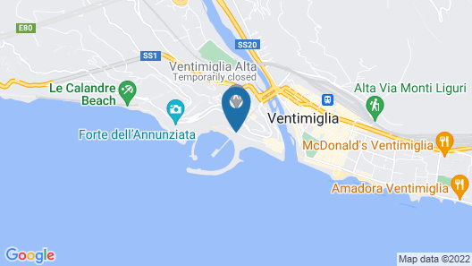 Hotel Sole Mare Map