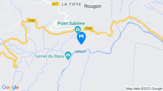 Auberge du Point Sublime Map