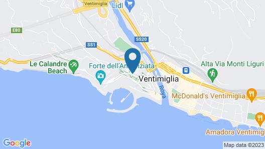 La Terrazza dei Pelargoni B&B Map