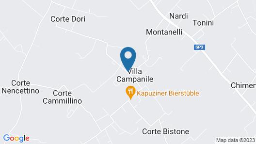 Villa Franco Map