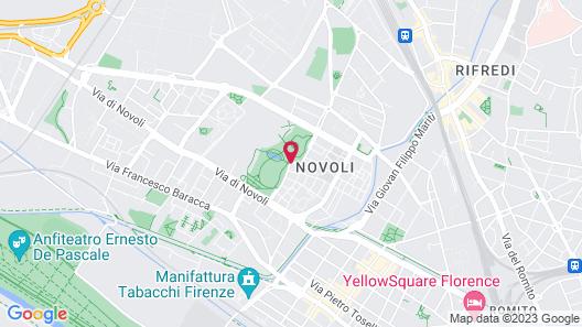 Hilton Garden Inn Florence Novoli Map