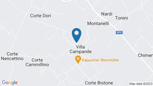 Appartamento Villa Campanile Map