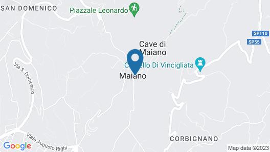 Fattoria di Maiano Map