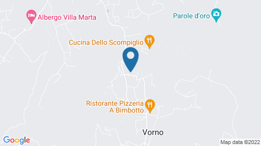 Guesthouse ai Santinelli Map