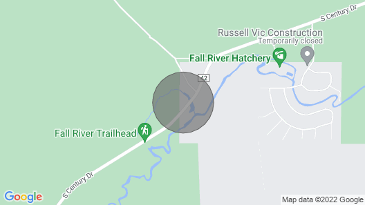 The Pond by Village Properties at Sunriver Map