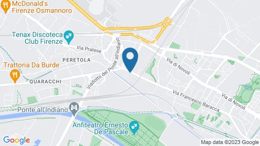 Appartamento Puccini Map