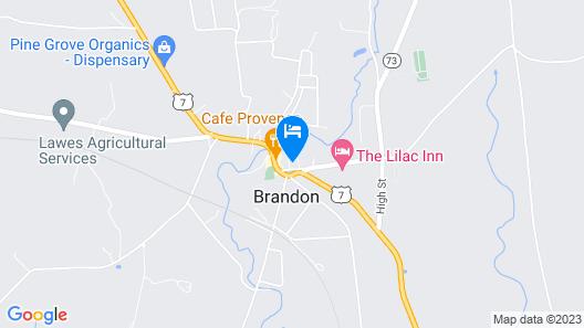 Brandon Inn Map