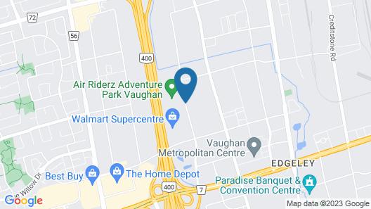Homewood Suites by Hilton Toronto Vaughan Map