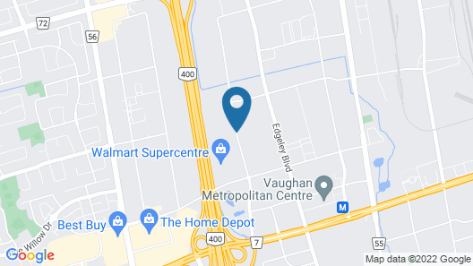 SpringHill Suites by Marriott Toronto Vaughan Map