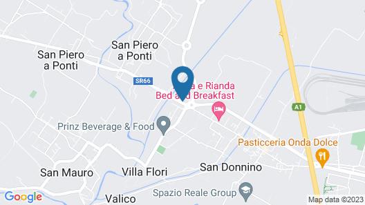 La Spiga Map