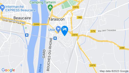 Hôtel du Viaduc Map