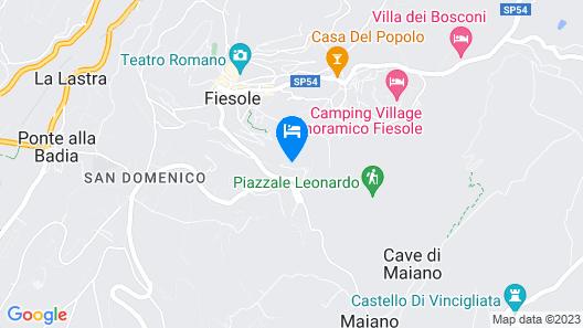 Belmond Villa San Michele Map