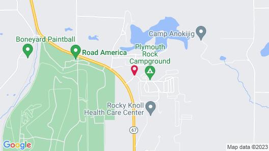 Plymouth Rock Camping Resort Map