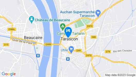 Rue du Château Map