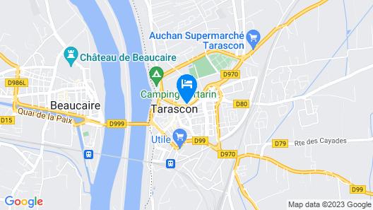 Hôtel les Echevins Map