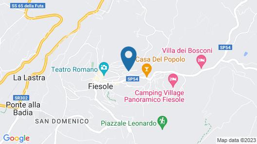 Residence Fiesole Map