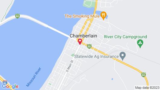 Super 8 by Wyndham Chamberlain SD Map