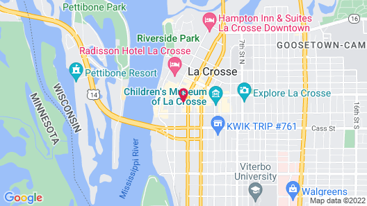 Home2 Suites by Hilton La Crosse Map