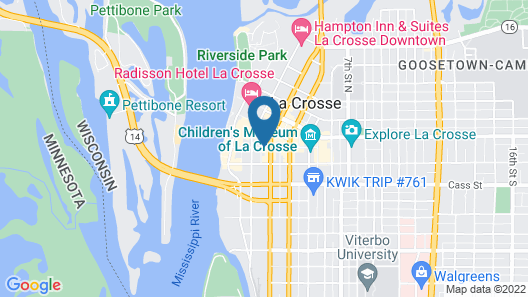 Home2 Suites by Hilton La Crosse Map