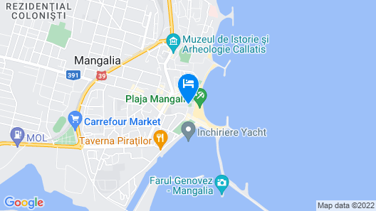 Hotel New Belvedere Map