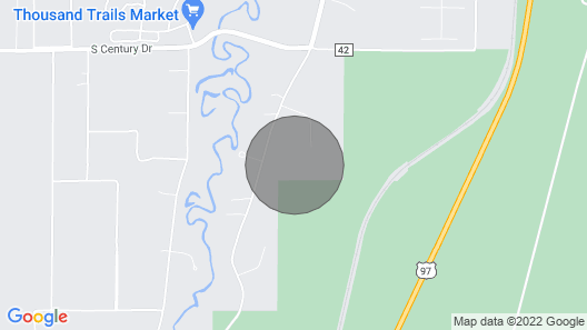 10 Acres of Privacy Near Sunriver Map