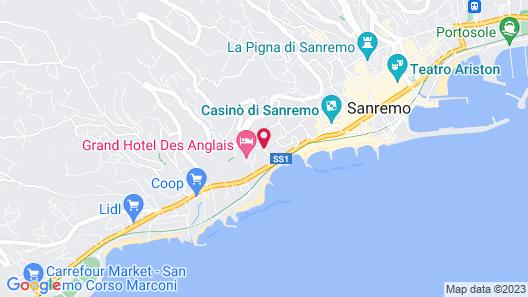 Hotel Paradiso Map
