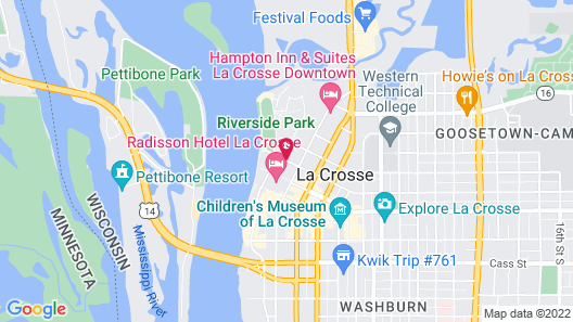 The Charmant Hotel Map