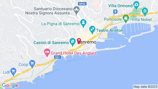 Hotel Eletto Map