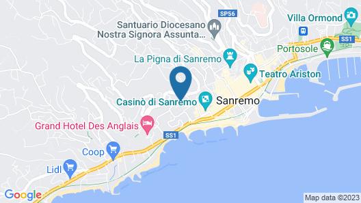 Hotel Principe Map