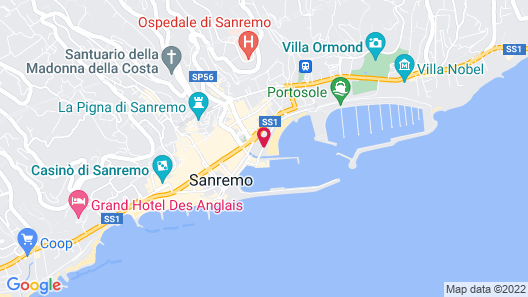 Residence dei Due Porti Map