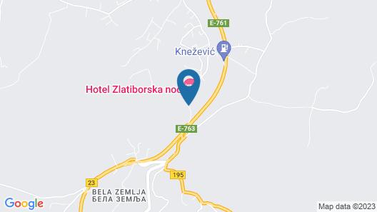Zlatiborska Noc Hotel Map
