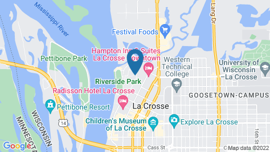 GrandStay Hotel & Suites Map