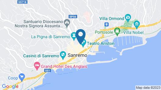 Via Mameli 5 Inn Map