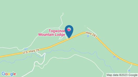 Togwotee Mountain Lodge Map