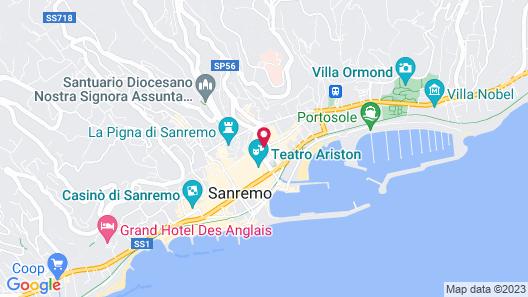 Pisolo Resort Map