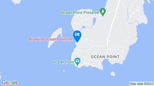 Ocean Point Inn Map