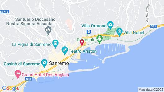 Hotel Marinella Map