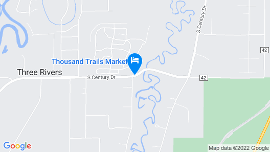 Bend-Sunriver RV Campground Map